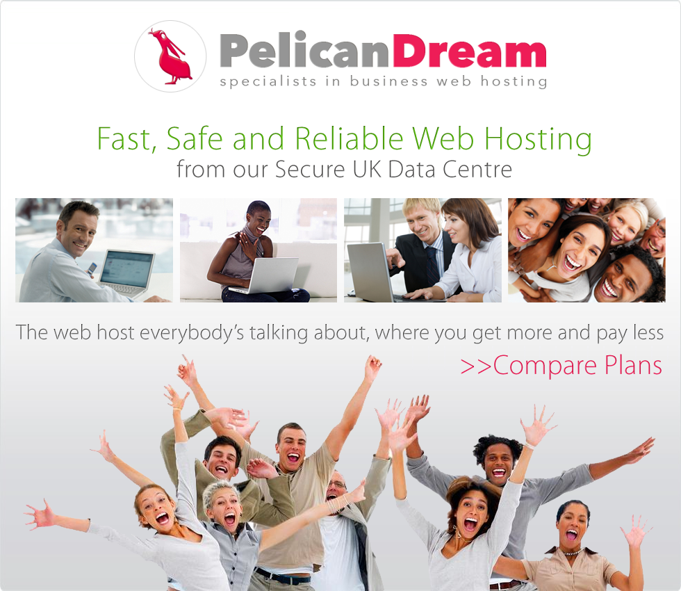PelicanDream - business webhosting at better prices